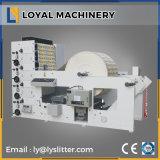 4 couleurs étiquette adhésive Flexo Fournisseur de la machine en Chine