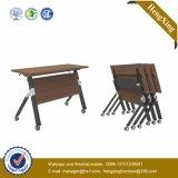 La Escuela Superior de melamina muebles de madera uso mesa plegable (UL-NM054)
