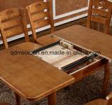 Складные цельной древесины обеденный стол с высоким качеством (M-X3149)