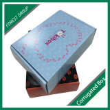 Projetar a caixa de presente de papel cosmética