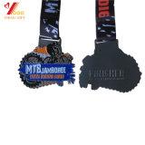 La concurrence Métal 3D personnalisé Award de l'exécution Sports médaille avec Ruban (YB-M-023)