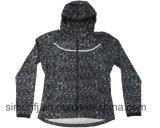 Повелительница Куртка Melange полиэфира способа