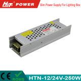alimentazione elettrica di commutazione del driver dell'alimentazione elettrica di 12V/24V 250W LED LED