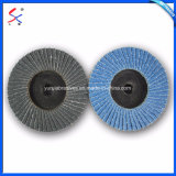 Wood Grinding를 위한 3 인치 Abrasive Sanding Flap Wheels Polishing Disc