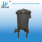 Apertura rápida prefiltro de filtro de mangas de varias viviendas para el tratamiento de líquidos