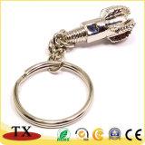 Encadenamiento dominante de la insignia del taladro de encargo del metal para los items del regalo
