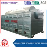 Fester Brennstoff-Ausgabe-Dampf-Reis-Hülse-Dampfkessel