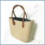 Coutume de sac d'EVA de femmes de couleur de sucrerie avec le traitement de chanvre et le sac intérieur
