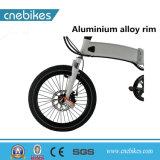 [ألومينوم لّوي] إطار مادّة و [36ف] جهد فلطيّ كهربائيّة يطوي درّاجة