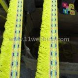 Fita da fita da cinta do Webbing do nylon/Polyester/PP/Polypropylene para acessórios do vestuário da roupa da bagagem do saco