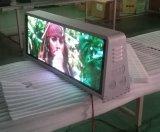 Der Fabrik-Förderung-P5 Zeichen-Doppeltes Taxi-der Oberseite-LED versah Videodarstellung-Tafel mit Seiten