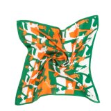 Form-Blumen-Entwurfs-Seide-Schal
