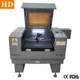 小型の小型レーザーの彫版機械6040