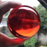 Dsjuggling 80mmの赤いアクリルの接触のごまかす球マジック球