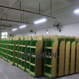 Cremalheira de indicador de madeira giratória com as 4 prateleiras que prendem 100kg, fabricante do indicador do MDF de China