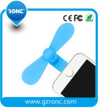 Teléfono de plástico Mini Ventilador con el puerto de iluminación para el iPhone 6/6s/7/7plus/8/X