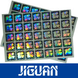 De Sticker van het Hologram van de Douane 2D/3D van de rechthoek, het Etiket van het Hologram 2D/3D