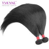 Tessuto diritto brasiliano superiore dei capelli umani di Remy del Virgin 8A di Yvonne