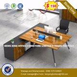 고전적인 지원실 책상 광을 내는 사무용 가구 (HX-8N0100)