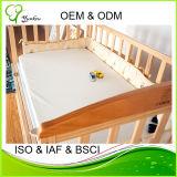 低刺激性のまぐさ桶のマットレスのカバーの尿の証拠の赤ん坊のパッド