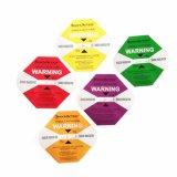 Étiquettes chaudes de paquet d'indicateurs d'étiquettes d'expédition de logistique de vente