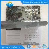 Promoción de la alfombrilla de ratón personalizada con el calendario de papel