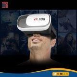 Vetro di plastica in linea del video di vetro 3D della casella di Vr 3D Vr dell'anaglifo di realtà virtuale di alta qualità dell'otturatore attivo poco costoso della cuffia avricolare dell'ABS