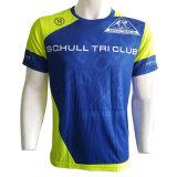 Le transfert de chaleur de l'impression par sublimation personnalisé Sportswear T-Shirt pour hommes