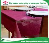 tela não tecida descartável de 45/47/50GSM PP para o Tablecloth