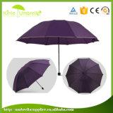 Зонтик промотирования печати изготовленный на заказ логоса высокого качества Silk