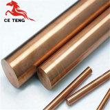 La varilla de cobre de alta calidad de la barra de cobre 99% precio de fábrica