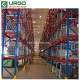 Q235B металлический склад для хранения поддонов для тяжелого режима работы для установки в стойку
