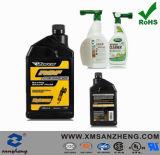 Lubrificanti resistenti di colore completo dell'olio autoadesivo lucido libero che impaccano gli autoadesivi