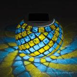 Cambio de cristal solar de Coulorful de la luz de la noche del mosaico