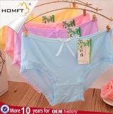 새로운 디자인 다채로운 편리한 대나무 섬유 여자 내복 소녀 삼각형 팬티