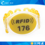 RFID 125kHz Lfのリスト・ストラップの札
