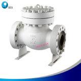 Válvula de verificação do balanço do silêncio do Non-Return do aço de molde API600/BS1868