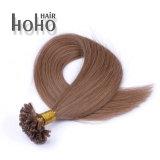 De Prijs van de Producten van het haar het Gerichte Haar van het Uiteinde van U van de Keratine van 10 Duim Opperhuid