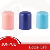 Tapas plásticas de la botella de la despedregadora facial