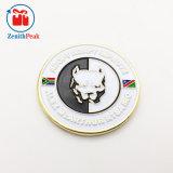 Custom esculpir Club Cão Animal e veados Coin