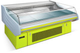 Коммерческие свежего мяса дисплей холодильник для супермаркет (RG-15)
