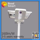 Luz solar da rua do jardim da estrada do diodo emissor de luz do poder superior com sensor de movimento