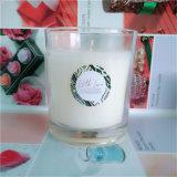 150g de ecologische Gebemerkte Kaarsen van de Soja in het Schilderen van de Kruik van het Glas