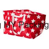 Sac d'emballage tissé par pp de cadeau, sac de client tissé par pp. Sac tissé par pp