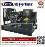 58kw/72.5kVA stille Diesel die Generator door Lovol-Perkins Engine-20171012K wordt aangedreven
