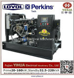 Lovol Perkins 엔진 20171012K가 강화하는 58kw/72.5kVA 침묵하는 디젤 엔진 발전기