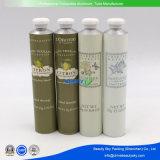 Tubo de aluminio del metal del alumbre del envase de los cosméticos del tubo de la botella cosmética