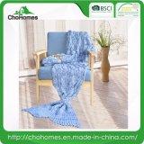 La sirena di grande misura ha lavorato a maglia la coperta per il disegno adulto di Fishscale