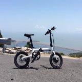 Hinterer Motor des Stadt-elektrischer Fahrrad-36V 250W, der elektrisches Fahrrad faltet