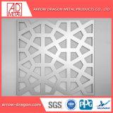 Diseño personalizado de paneles de pantalla de aluminio perforado Mashrabiya / para la decoración